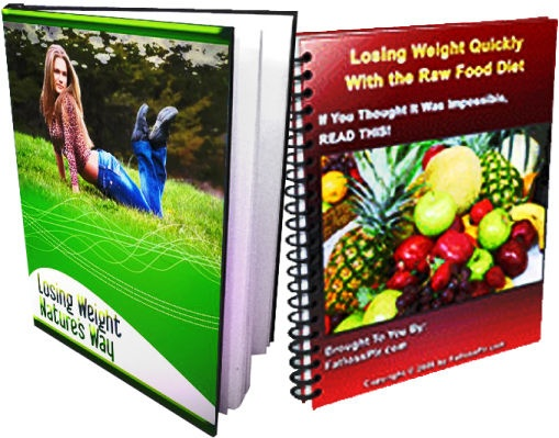 Here's a product I like that you might want to check out! You can get Losing Weight Nature's Way + BONUS Losing Weight Quickly With The Raw Food Diet for just $8.99 (a 90% savings!)