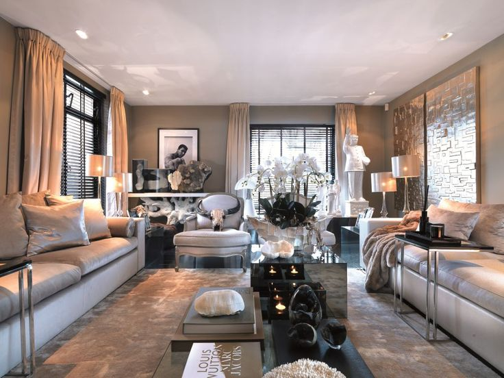 James Bond inspired TV room, design by team Eric Kuster, photo by Hans Fonk