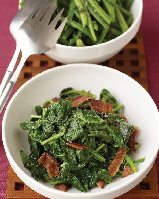 Sauteed Spinach with Bacon | Recipe | Bacon, The o'jays ...