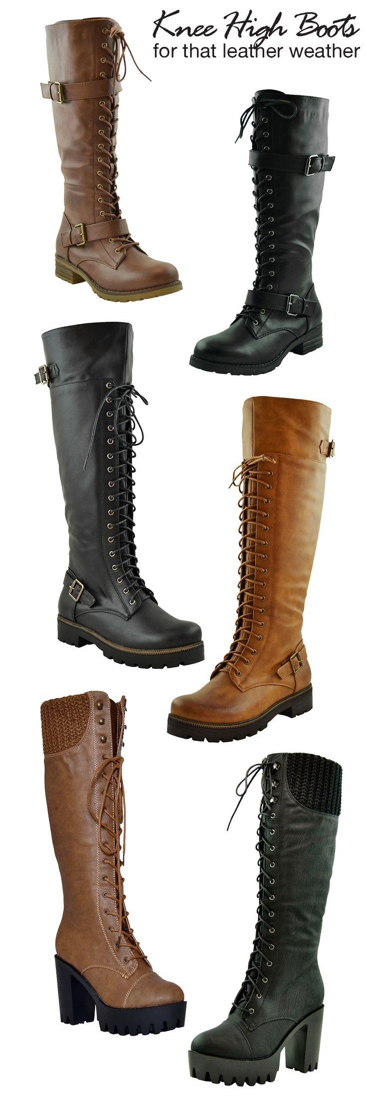 New Arrivals Women Knee High Boots, high heels platform shoes