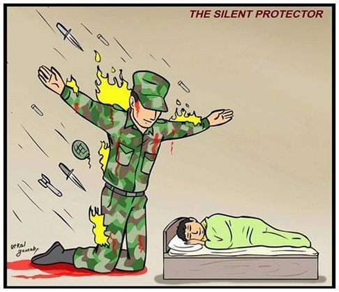 We Salute Indian Army.... #IndianArmy