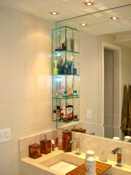 Nicho Bancada Banheiro : Melhores ideias de nicho vidro no