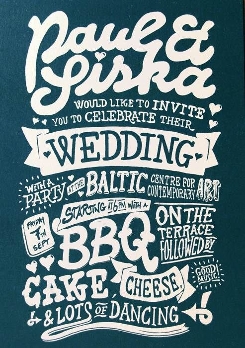 17 Best images about Invite on Pinterest Clever design, Typography - best of invitation name designs