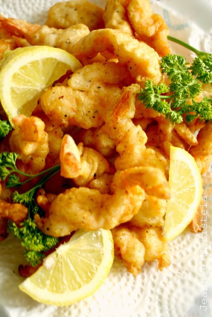 Crispy Battered Shrimps Recipe  #seafood #shrimp