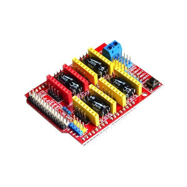 Shield arduino para controlar motores paso a paso compatible GRBL.
