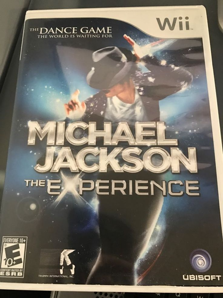Michael Jackson: The Experience Wii Game