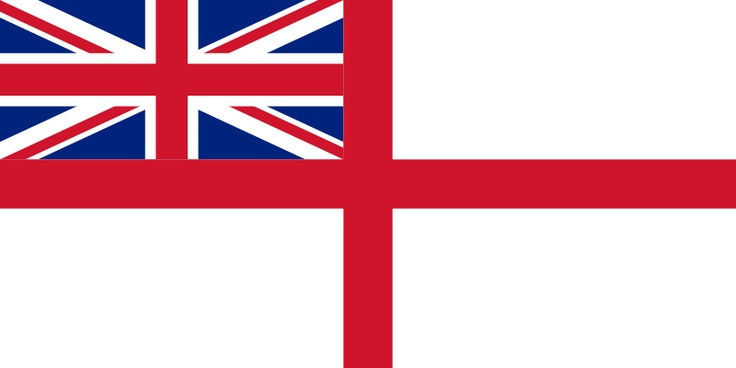 British Royal Navy Flag