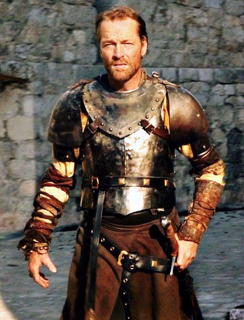 Iain Glen as Jorah Mormont   II. III. IV.