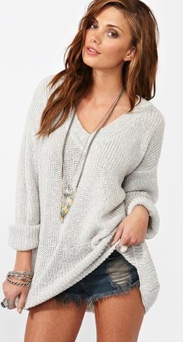 maddy oversized sweater- nasty gal