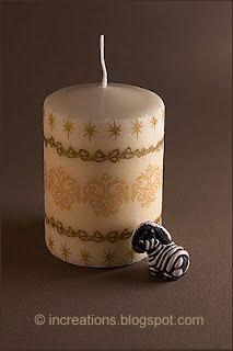 διακόσμηση κεριών με decoupage - Αναζήτηση Google