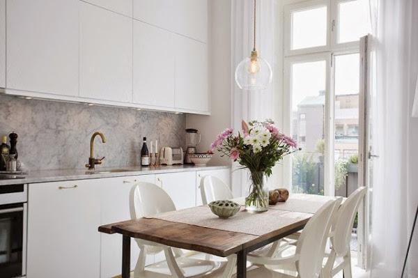 Femenino y elegante mini apartamento   Decoración