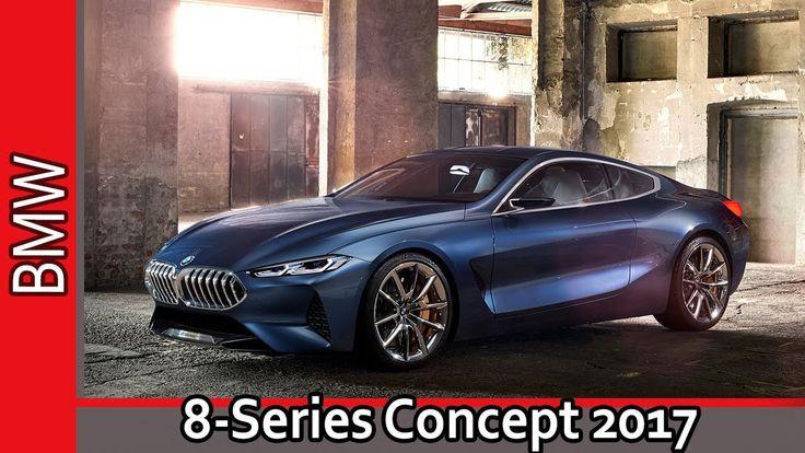 BMW 8‑Series Concept 2017 / БМВ 8-серии Концепт 2017 - Обзор от AUTO WOR...