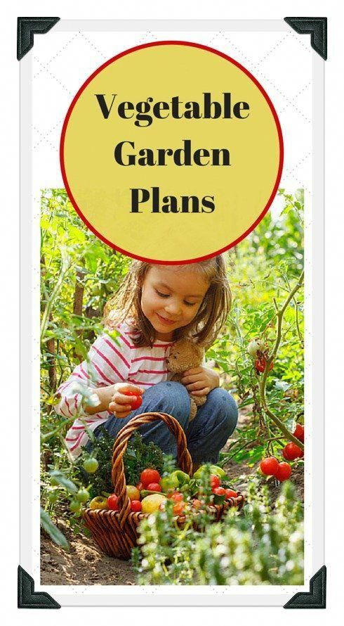 Basic vegetable garden design and planning worksheets Free