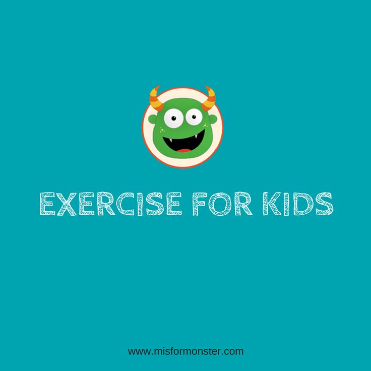 54 Best Exercise For Kids Images On Pinterest Exercise