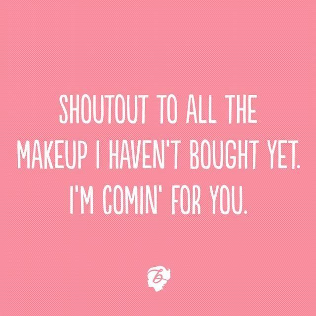 We'll see ALL the makeup this weekend :)