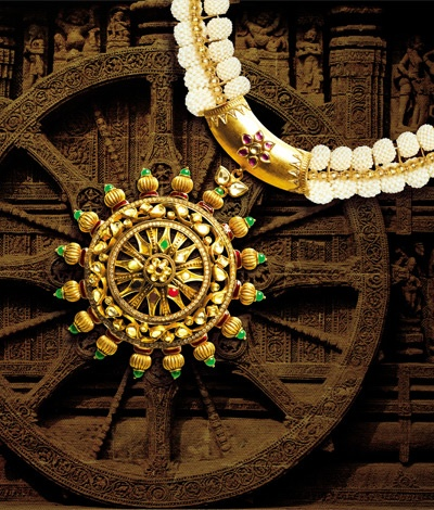 """Temple jewellery is one of the oldest forms of jewellery"". Flaunt the TBZ elegant and traditional temple jewellery."