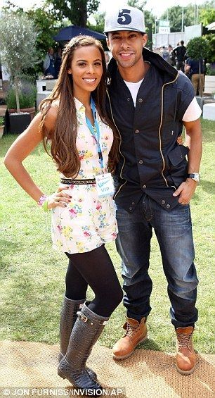 Rochelle Wiseman and Marvin Humes ...I love them!