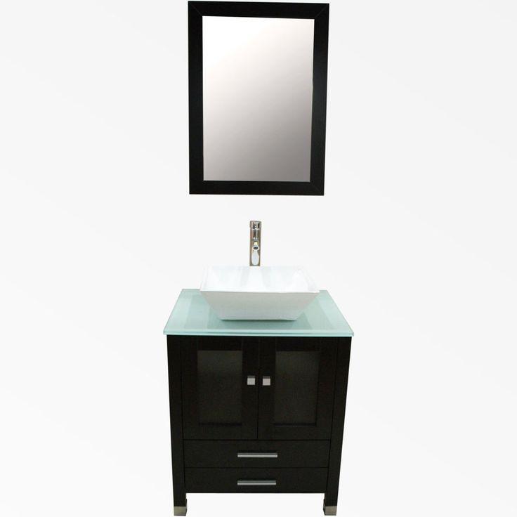 about bathroom vanity top 24 cabinet wood single vessel sink bowl