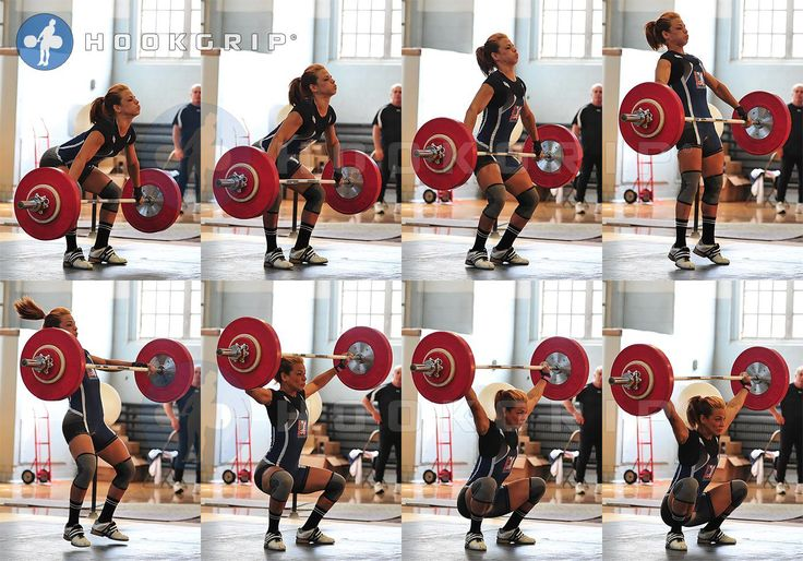 Awesome Snatch. One of the toughest moves for me.