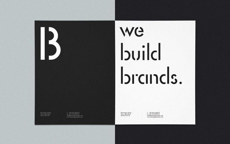 Letterheads. bocanegrastudio.com #identity #branding #typography