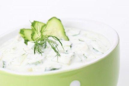 Okurkový salát / Cucumber salad