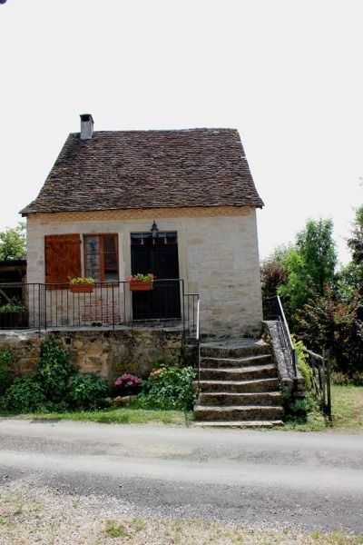 Family Uses 17th Century Tiny Stone Cottage in France for Escapades | Click through for beautiful pictures! | Tiny House