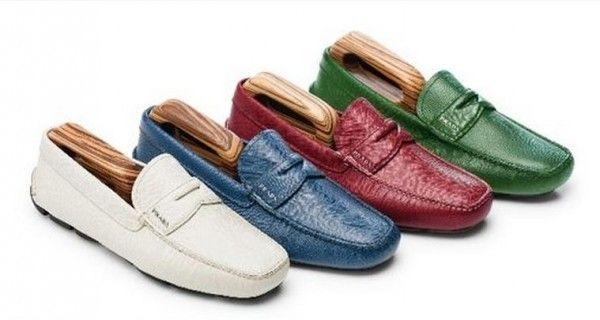 Prada lancia le esclusive Scarpe da Uomo cucite a Mano Prada scarpe da uomo su misura