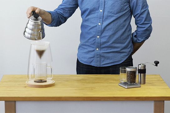 Make Mornings Bearable With These New Coffee Makers #refinery29  http://www.refinery29.com/best-coffee-carafe-trends#slide1  The Manual Coffeemaker Nº1 got kickstarted by an independent designer in Chicago. It pays homage to the process used by coffee brewers of yore. And, its freestanding, handmade, sculptural glass form leaves nothing to the imagination.