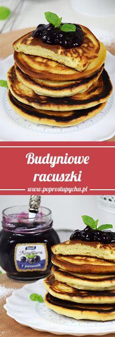 Pomysł na szybkie i pyszne śniadanko? Budyniowe #racuszki! <3 #poprostupycha #sniadanie #przepis
