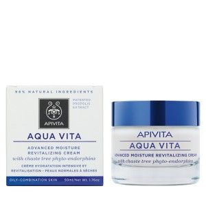 Aqua Vita-Advanced Moisture Revitalizing Cream for Oily/Combination Skin with chaste tree phyto-endorphins