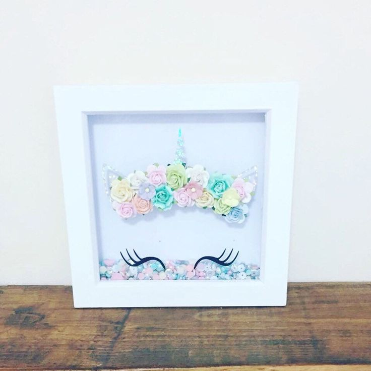 Excited to share the latest addition to my #etsy shop: Unicorn box frame with 3d paper flower crown unicorn gifts/bedroom decor/kids room/gifts for girls/unicorn gifts l/unicorn wall art/unicorn #homedecor #girlsbedroom #unicorngifts #unicorn #paperflowercrown