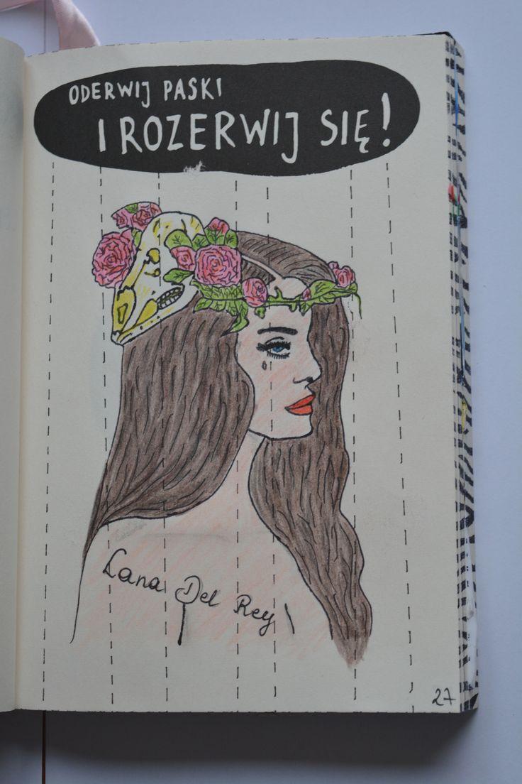 Podesłała Karina Marcelina #zniszcztendziennikwszedzie #zniszcztendziennik #kerismith #wreckthisjournal #book #ksiazka #KreatywnaDestrukcja #DIY
