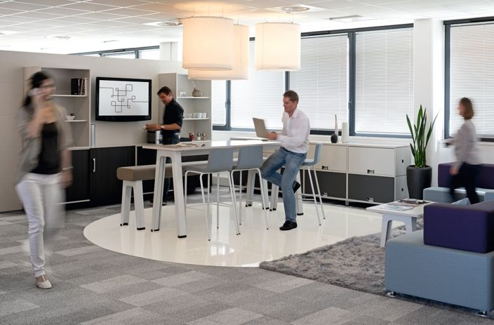 Tall Table With Bench Or Stool Steelcase B Free Lounge