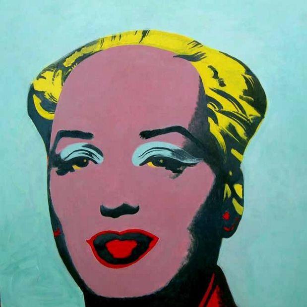 Yu Youhan Untitled (Mao Marilyn) 2005