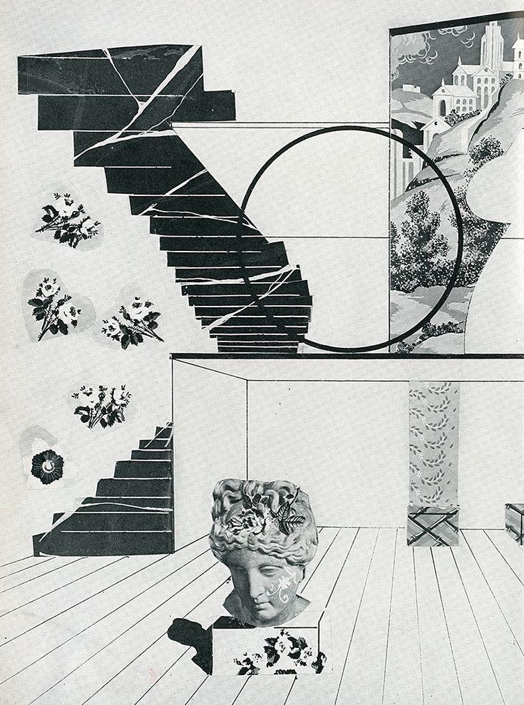 Constantino Nivola. Interiors v.100 n.7 Feb 1941: 30 | RNDRD