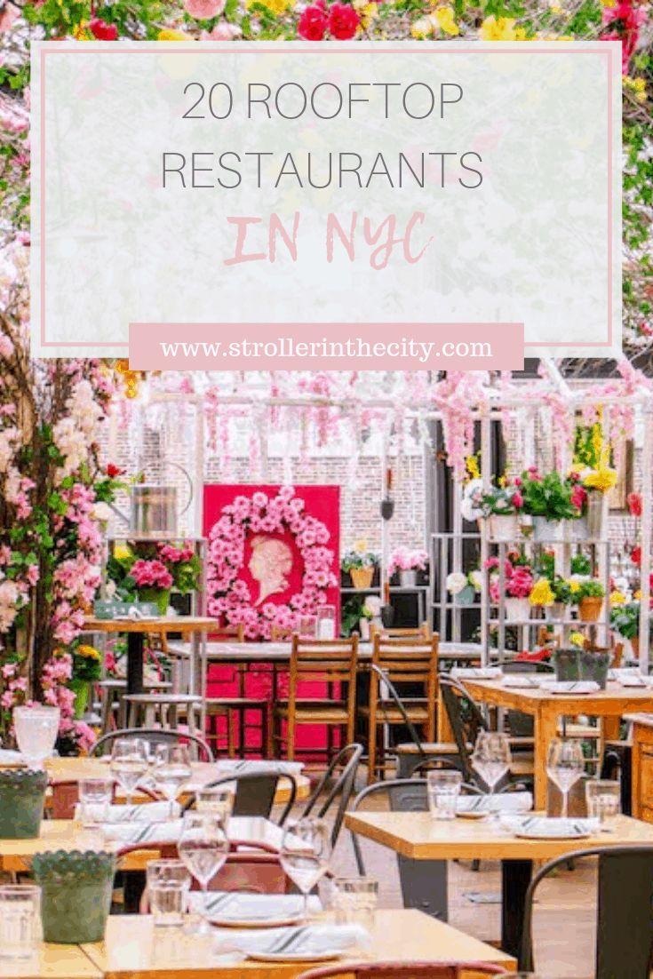 20 Rooftop Restaurants in NYC