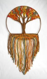 17 best images about makram on pinterest rope art macrame curtain and macrame tutorial - Hemp rope craft ideas an authentic rustic feel ...