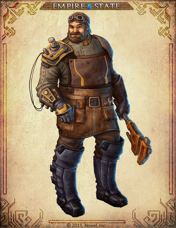 """This is a character I created for the free-to-play online game """"Empire & State."""" I had a great time designing characters for the game. I really tried to push myself on this project. The game is..."""
