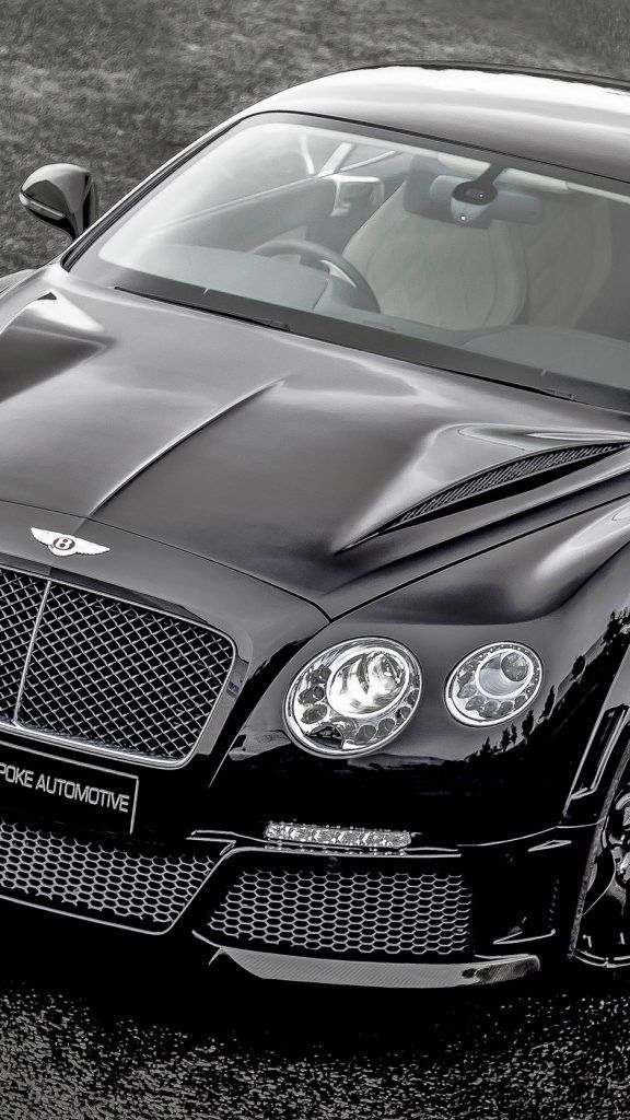 30 Hd Car Iphone Wallpapers Bentley Wallpaper Black Bentley