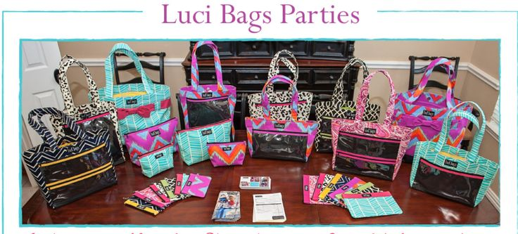 Luci Bags are an adorable, bright, and professional way to display your favorite things- whether it be your direct sales eye catching items or your children and grandchildren- Luci bags has something for everyone! See and place your order on Eric's party link www.lucibags.com/party/Eric