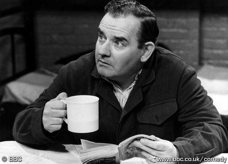 Ronnie Barker. Comedy.