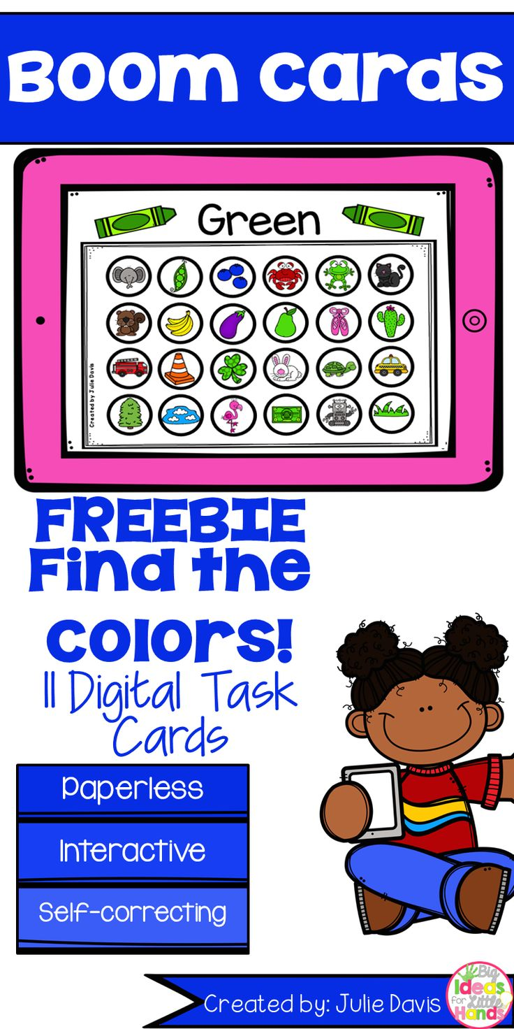 Need a fun and interactive to get your students engaged in learning letters? Boom cards are a fun and interactive way to get your students engaged in learning!  In this download, you will find 11 digital BOOM cards, one card for each color. Colors included are: red, orange, yellow, green, blue, pink, purple, black, brown, gray, and white. Students will look at the color at the top and find and click all of the matching colors below. When you download this product, you will receive a PDF file…