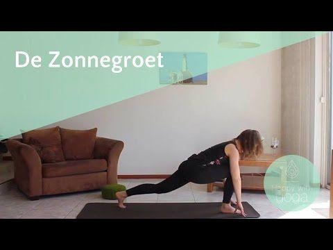 Zonnegroet Yoga Stap-voor-Stap | Yoga Oefeningen en Houdingen | Happy with Yoga - YouTube