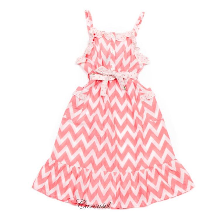 Oobi Pink Chevron Dress- love this dress wish they made it in yellow.