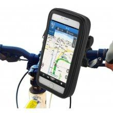 Water Resistant Bicycle 6.8 inch Phone Bag Holder Bike Handlebar Cellphone Pack Outdoor Cycling Necessary