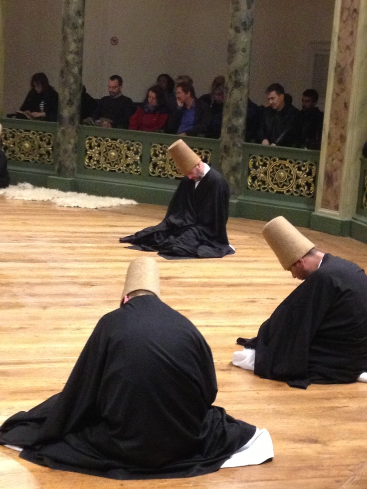 After the prayers, exhaustion and a state of pureness