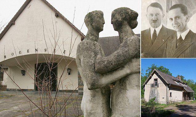 Joseph Goebbels' abandoned lakeside love nest near Berlin goes on sale
