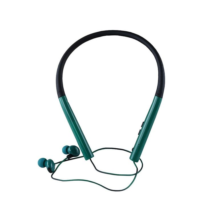 Coutlet Bluetooth V4.2 Headphones, In-ear Neckband Headphones with 6h Talk Time, 120h Standby Time Blackish
