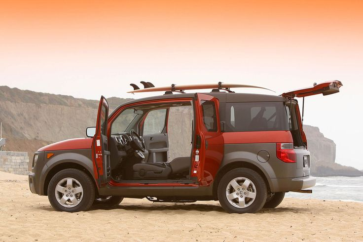 best cars for camping honda element
