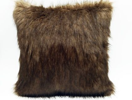 Designer Faux Fur Cushion